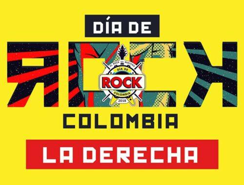 Dia de Rock Colombia La Derecha