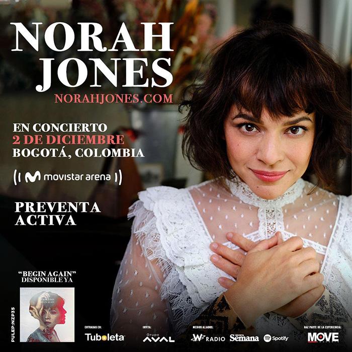 Norah Jones Bogotá