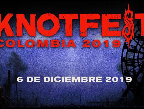 Knotfest Colombia portada