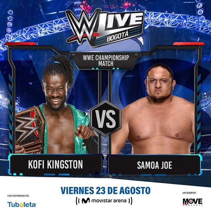 WWE Kofi Kington