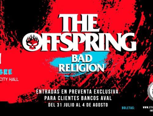 The Offspring y Bad Religion portada