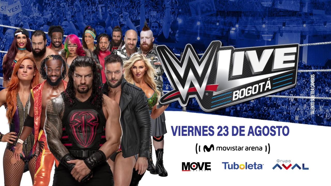 WWE Bogota portada