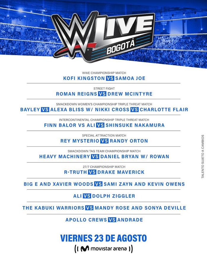 WWE Bogota