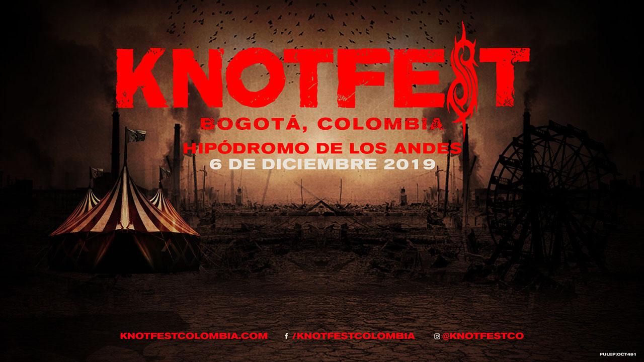 Knotfest Colombia 2019 portada