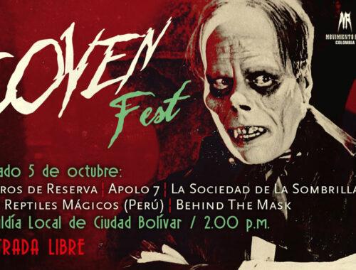 Coven Fest portada