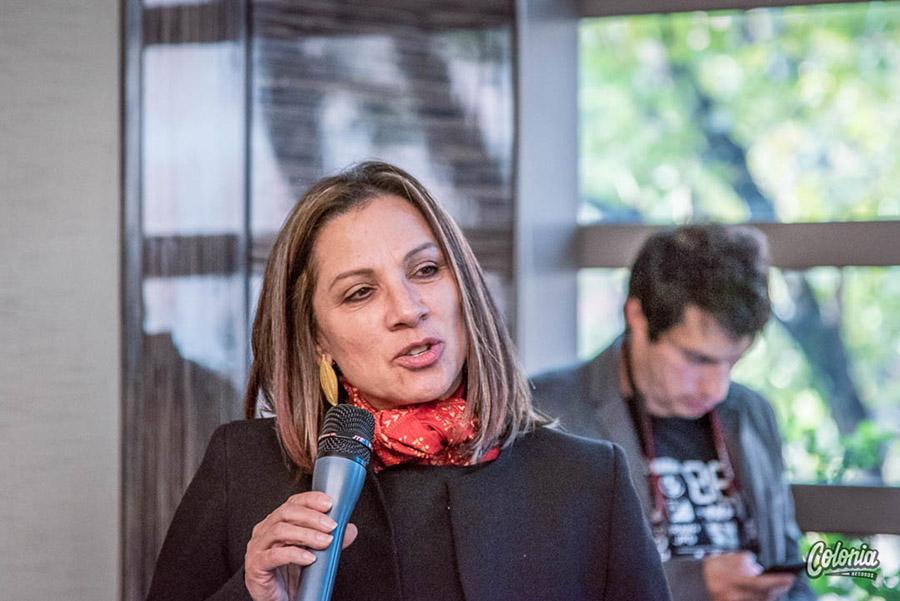 Lanzamiento Festival Vive el Río Bogotá Pilar Morales