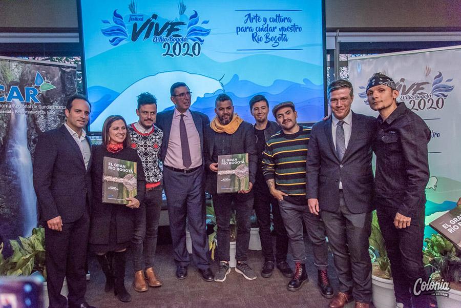 Lanzamiento Festival Vive el Río Bogotá portada