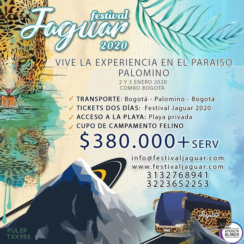 Festival Jaguar 2020 precios