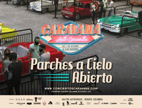 Parches Cielo Abierto - Conciertos Caravana